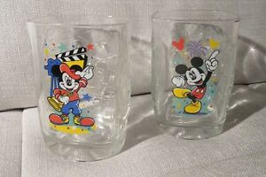 2 Verres de collection Disney de Mac Donald
