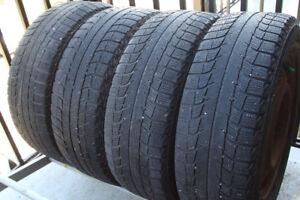 4 pneus hiver Michelin X-ice Xi2 avec jantes en acier