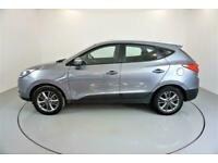 2013 GREY HYUNDAI IX35 1.7 CRDI SE NAV 2WD DIESEL ESTATE CAR FINANCE FR £129 PCM