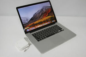 "MACBOOK PRO 15"" i7 2.3GHz,8GB,256GB,WEBCAM,WIFI,liquidation"