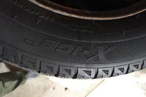 Winter Tires on Rims 225/60R17