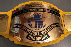 WWF Intercontinental Wrestling Title Belt Replica