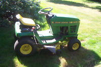 MUST SELL -  John Deere STX 38 Ride on mower