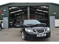 2008 Saab 9-3 1.9TiD ( 150ps ) MANUAL DIESEL BLACK CONVERTIBLE Vector