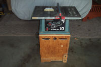 Delta 10 Circular Bench Saw w/ Stand