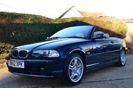 2003 BMW 3 SERIES 318CI CONVERTIBLE PETROL