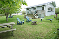 Cottage for Rent, Waterview, Caissie Cape, NB