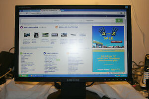 19 inch Samsung model SyncMaster920 NW widescreen LCD
