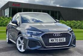 image for 2020 Audi A3 Saloon S line 35 TFSI  150 PS S tronic Semi Auto Saloon Petrol Auto