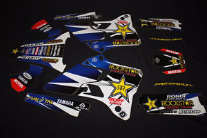 Rockstar decals YZ125/250 1996-2001