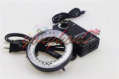 Adjustable Ring Light Illuminator Lamp For Stereo Zoom Microscope Us Plug 60-led