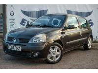 2005 RENAULT CLIO 1.2 DYNAMIQUE 16V 3 DOOR NEW MOT LOW INSURANCE IDEAL FIRST CAR