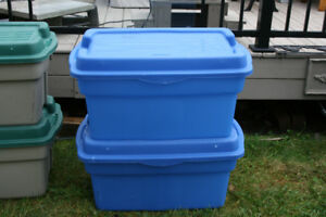 Rubbermaid Rough Totes (Storage Containers)