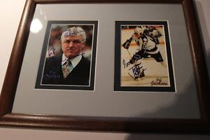 Pat Quinn & Jeff Jackson Signed Photo's (VIEW OTHER ADS)