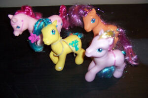 16 My Little Pony Large and Small
