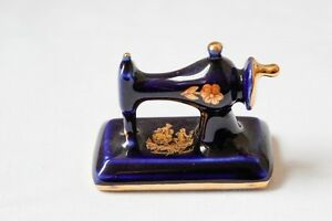 Porcelain Limoges Castel France – Miniature Sewing Machine Edmonton Edmonton Area image 1