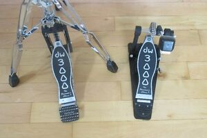 DW 3000 Hi Hat Stand and Bass Drum Pedal -  MINT