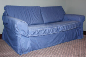 IKEA (pull-out double) Sofa Bed - complete with cover!