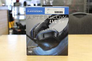 **PS4** AfterGlow LVL 5+ QuadBoost Gaming Headset
