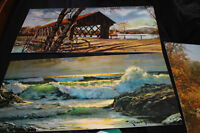 3 Old Paintings / Prints...... **Excellent Condition**