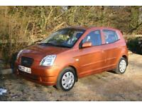 Only 66532 Miles KIA PICANTO with NEW MOT and FULL SERVICE HISTORY