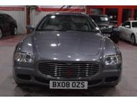 2008 08 MASERATI QUATTROPORTE 4.2 V8 4D AUTO 396 BHP