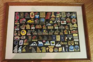 Framed Collector Pins Sets from PEI 1991 Canada Games