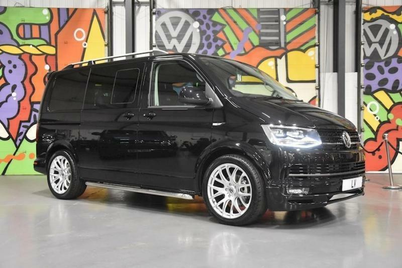 0fee9ab683 VW TRANSPORTER T6 T30 SWB 2.0TDI 150PS DSG KOMBI HIGHLINE SPORTLINE PACK  BLACK