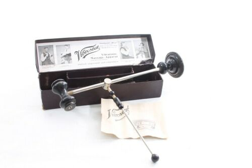 Old Antique Massager Vibrostat Old Vintage Rarely Collector Boxed German Rich