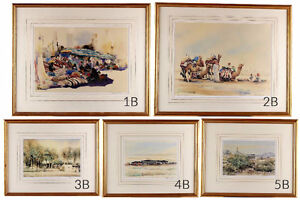 Spencer W Tart Limited Edition Watercolour Prints