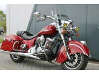 2016 INDIAN SPRINGFIELD INDIAN CHIEFTAN in RED