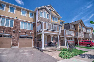 Perfect Mattamy Built Freehold Townhome For Sale in Milton