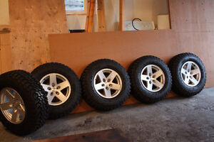"""5 Brand New Tires and Rims"" (Jeep Rubicon)"