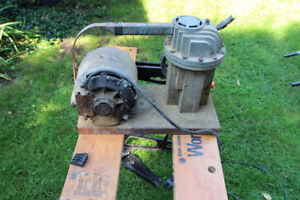 Air  Compressor complete with Electric Motor.