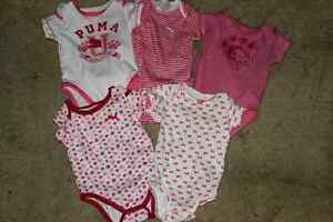 Baby girl clothes 3-6 and some 6-9 all practically brand new
