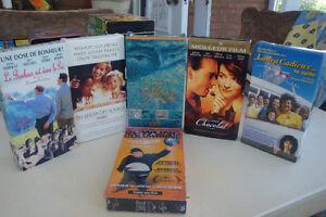 10 VHS  Adultes