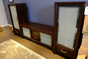 3 piece entertainment unit
