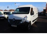 2016 Renault Master MM35dCi 125 Business Medium Roof Van Diesel white Manual