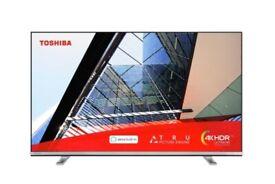 "toshiba 43"" smart 4k uHD tv"