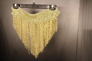 Gold Beaded Belt with decorations