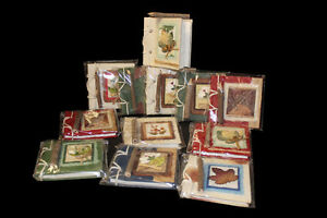Mulberry Note Books Set of 12 with twig pencil
