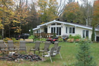Muskoka waterfront cottage for rent