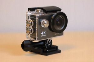 1080p/4k Action Sports Camera - Compatible w/ GoPro Accessories