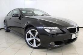 2010 60 BMW 6 SERIES 3.0 635D SPORT 2DR AUTOMATIC 282 BHP DIESEL