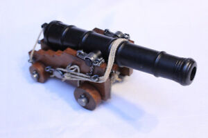 "Naval Cannon Model 18th Century 10.75"" British Navy 1800 RARE"
