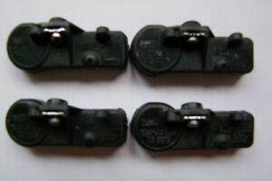 SET OF FOUR GENUINE FORD TIRE PRESSURE MONITOR SYSTEM SENSORS
