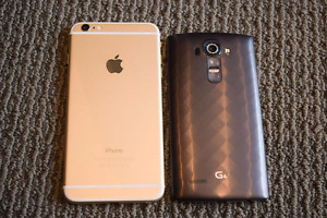 Looking to trade my 32gig lg g4 for iphone 5s and up