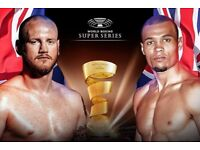 Eubank Vs Groves 2 x Tickets *CHEAP* XMAS PRESENT