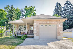 Great in-law potential with full 2 bedroom suite.