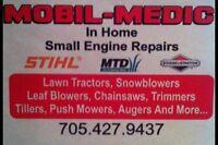 Mobil-Medic. Lawn Mower, Tractor, & Small Engine Repairs.